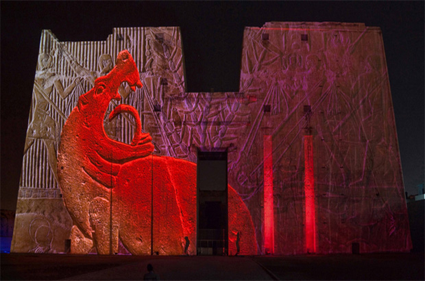 Sound and Light in the Temple of Philae