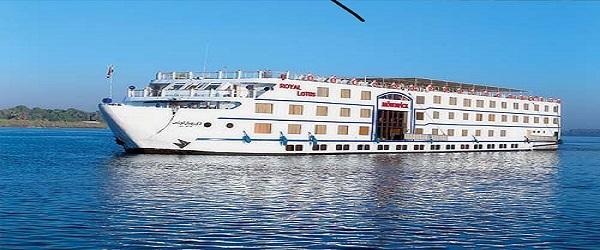Movenpick MS Sunray Nile Cruise  3 NIGHTS / 4 DAYS
