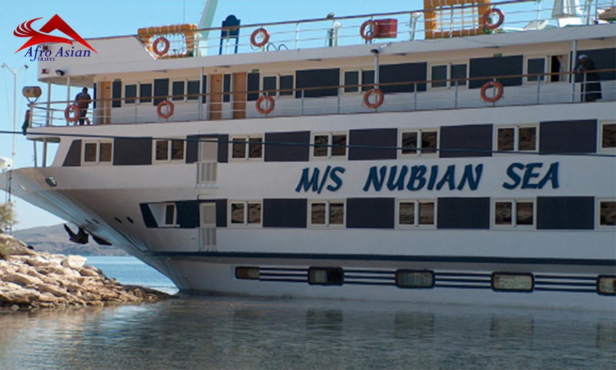 Nubian Sea Lake Nasser Cruise 4 NIGHTS/ 5 DAYS