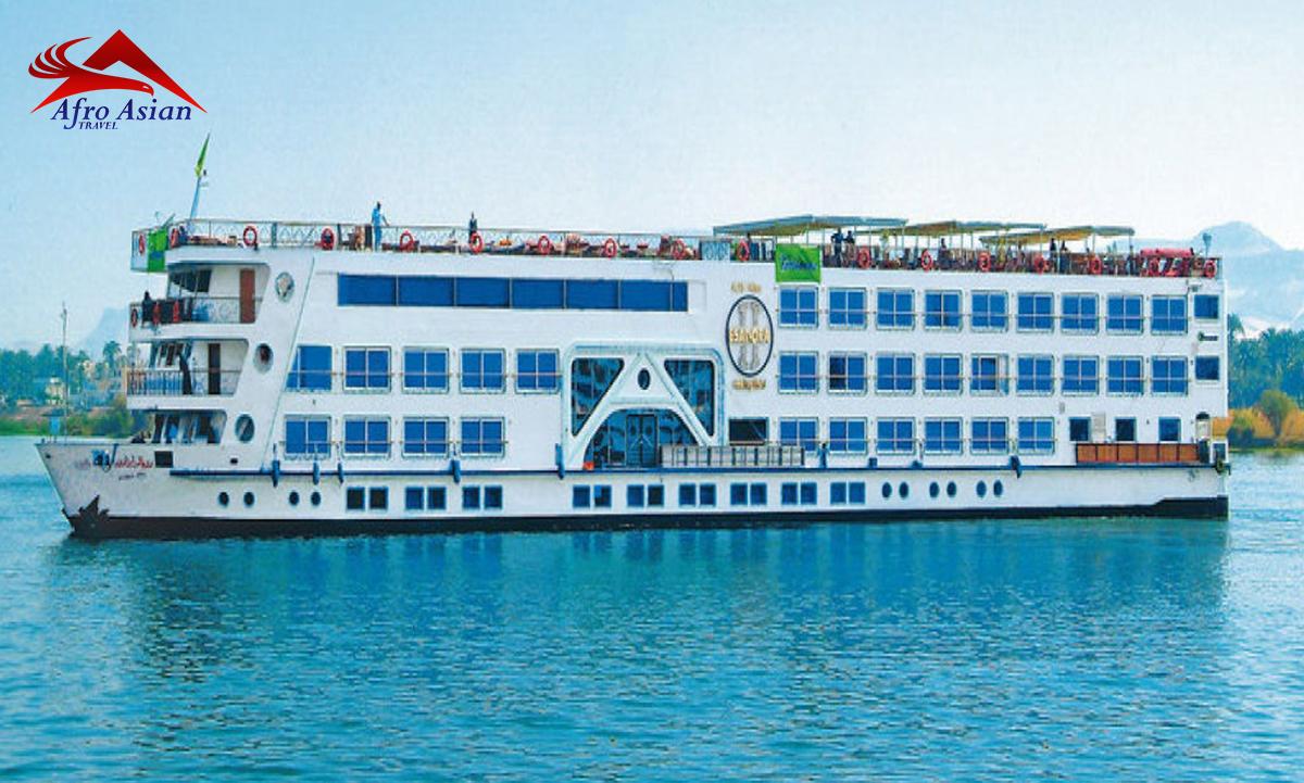 Blue Shadow Nile Cruise 3 NIGHTS/4  DAYS