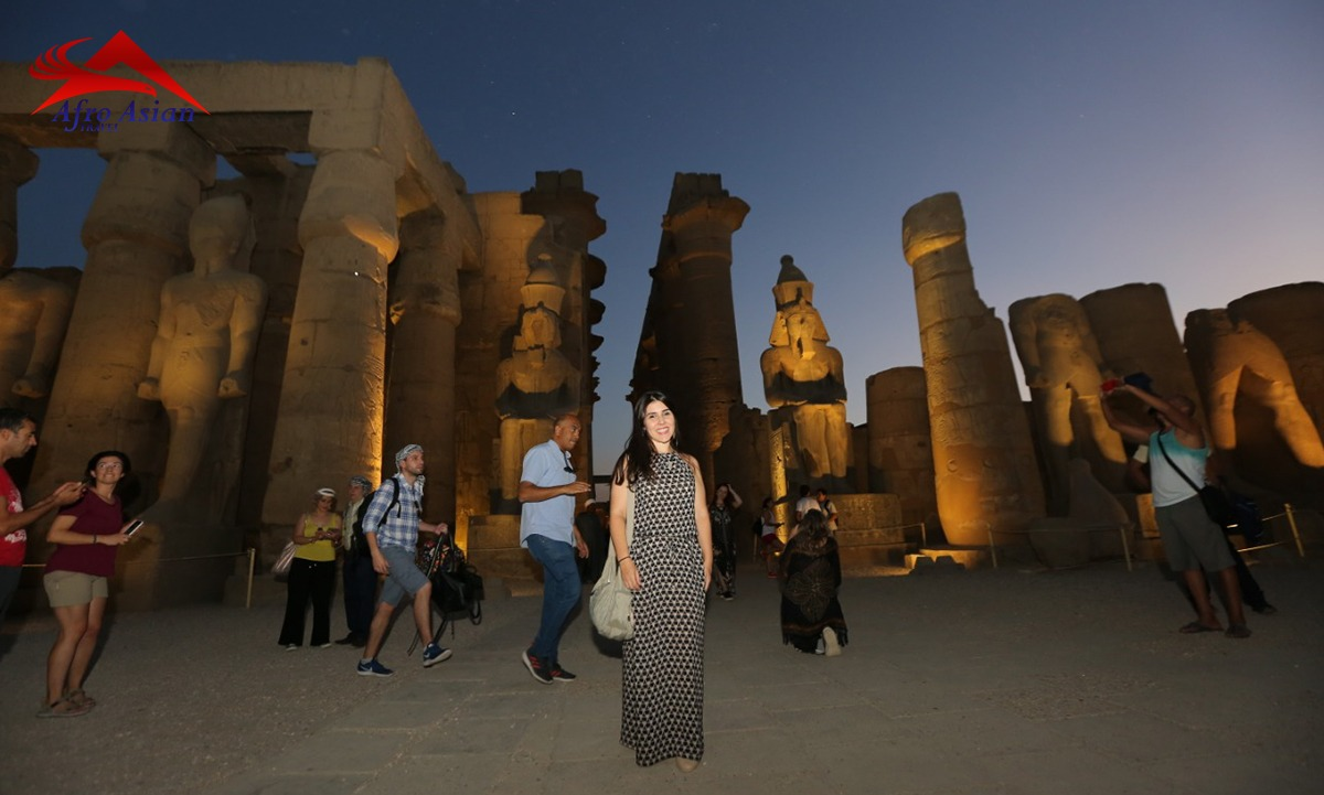 Light and Sound in the Karnak temple Show